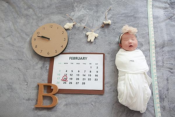 라벨메르 [황은혜 문상선] 신생아 사진