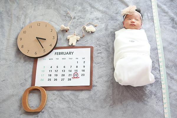 라벨메르 [유하늘 김준현] 신생아 사진