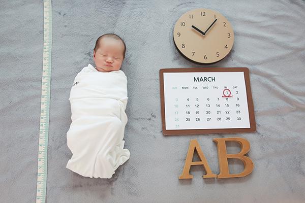 라벨메르 [유아름 박성진] 신생아 사진