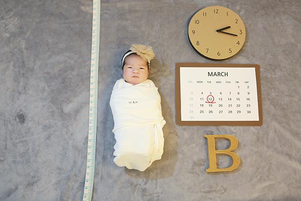 라벨메르 [이고운 김상길] 신생아 사진