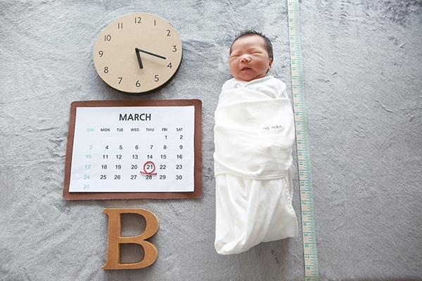 라벨메르 [장윤주 박재일] 신생아 사진
