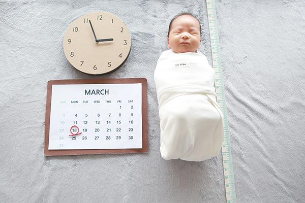 라벨메르 [최유정 윤성대] 신생아 사진