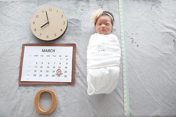 라벨메르 [홍하영 김진평] 신생아 사진