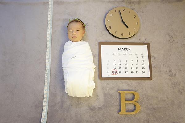 라벨메르 [김유리 황인석] 신생아 사진
