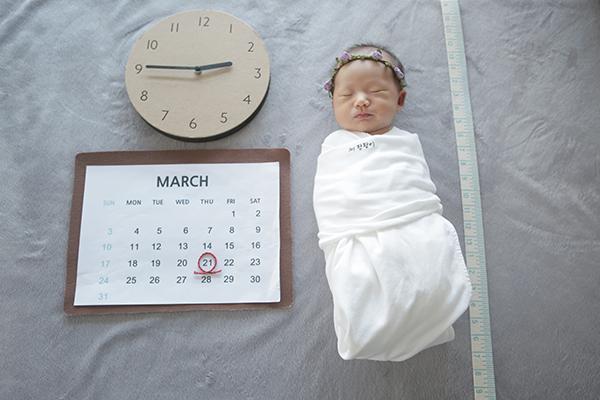 라벨메르 [정수진 박용성] 신생아 사진