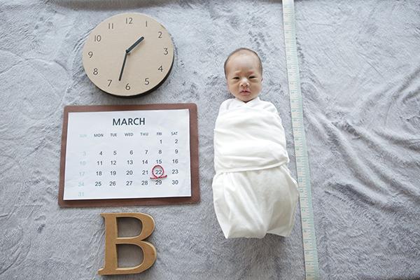 라벨메르 [나보라 김형래_김이안] 신생아 사진