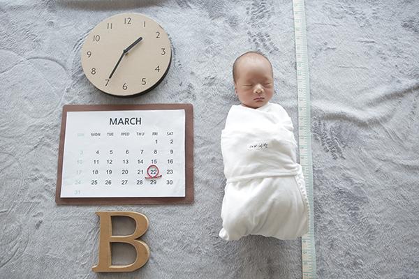 라벨메르 [나보라 김형래_김시안] 신생아 사진