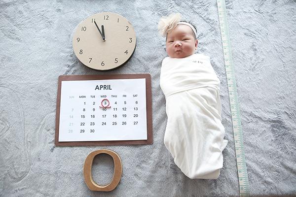 라벨메르 [장보윤 박태원] 신생아 사진