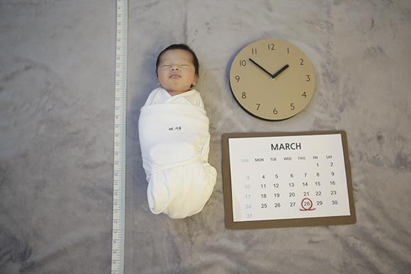 라벨메르 [함여정 현세용] 신생아 사진