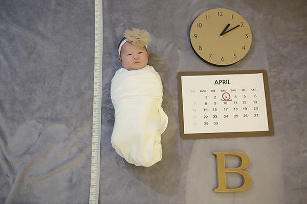라벨메르 [백지혜 한재규] 신생아 사진