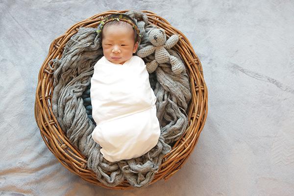 라벨메르 [김다해 안수홍] 신생아 사진