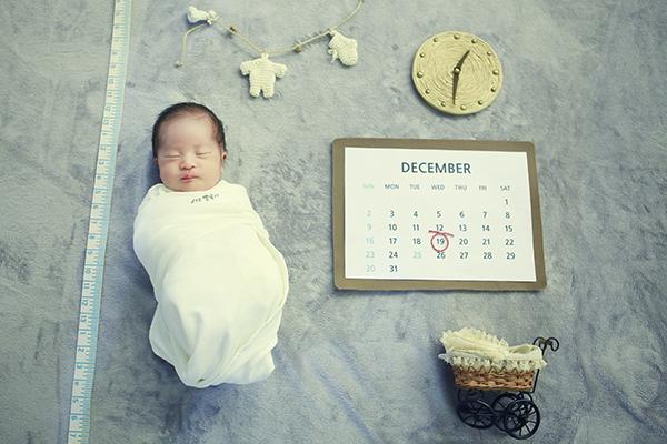 라벨메르 [박세라 백승주 ] 신생아 사진
