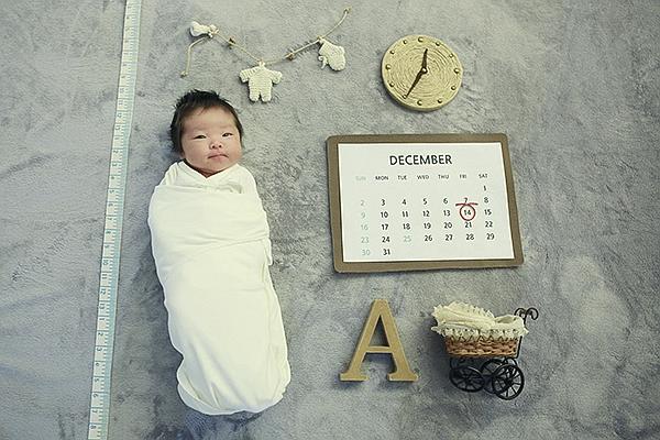 라벨메르 [서연지 성락규 ] 신생아 사진