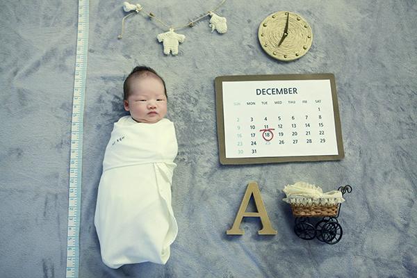 라벨메르 [장민화 양영산 ] 신생아 사진
