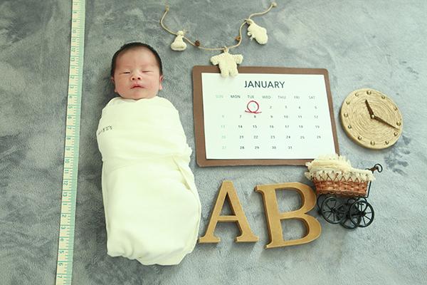 라벨메르 [고나영 김호중 ] 신생아 사진