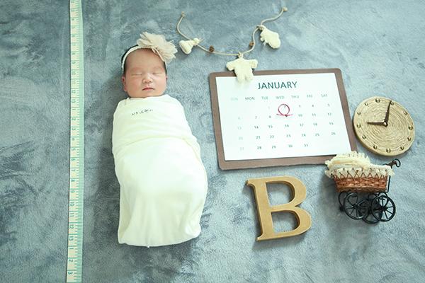라벨메르 [장유리 정재훈 첫째 ] 신생아 사진