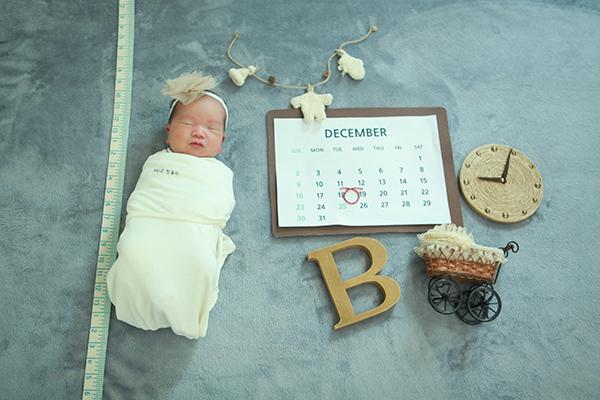 라벨메르 [장유리 정재훈 둘째 ] 신생아 사진