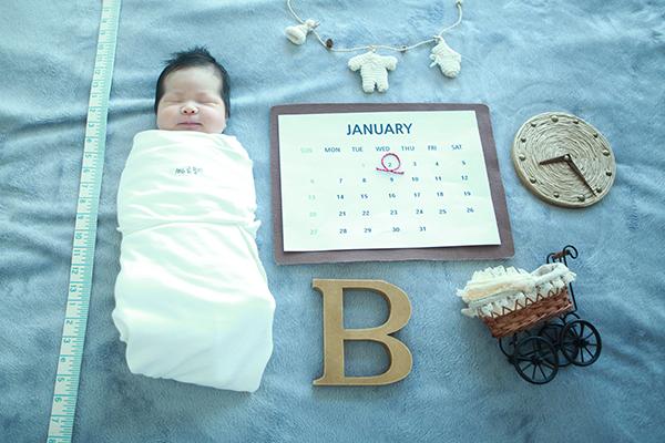 라벨메르 [한지선 한규명 ] 신생아 사진