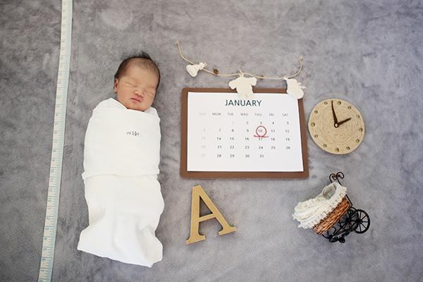 라벨메르 [하도아 안준우 ] 신생아 사진
