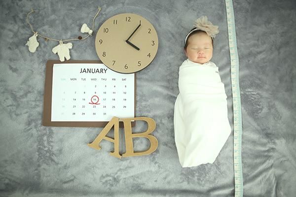 라벨메르 [박초롱 박재호] 신생아 사진
