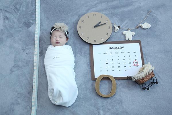 라벨메르 [김은혜 손태진 ] 신생아 사진