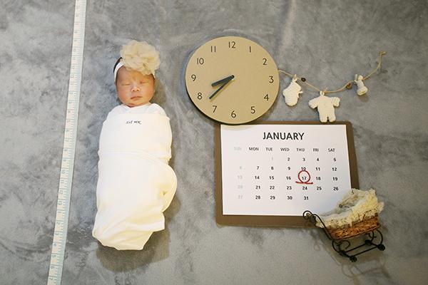 라벨메르 [문희 조영재 둘째 ] 신생아 사진