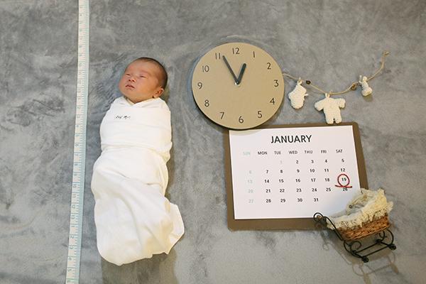 라벨메르 [박은경 장청명 ] 신생아 사진