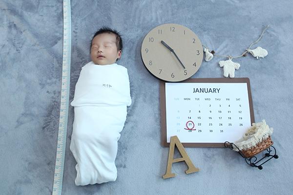라벨메르 [안미래 이규원 ] 신생아 사진