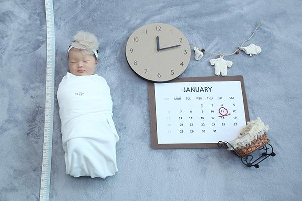라벨메르 [윤빛나 안승택 첫째] 신생아 사진
