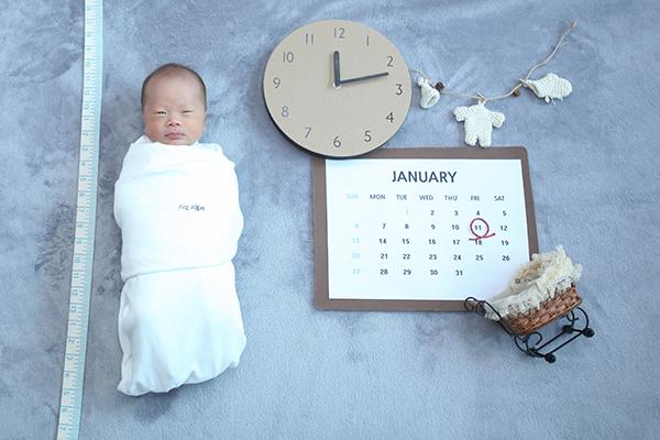 라벨메르 [윤빛나 안승택 둘째 ] 신생아 사진
