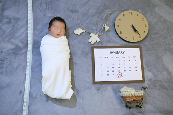 라벨메르 [장화니 이경환 첫째] 신생아 사진
