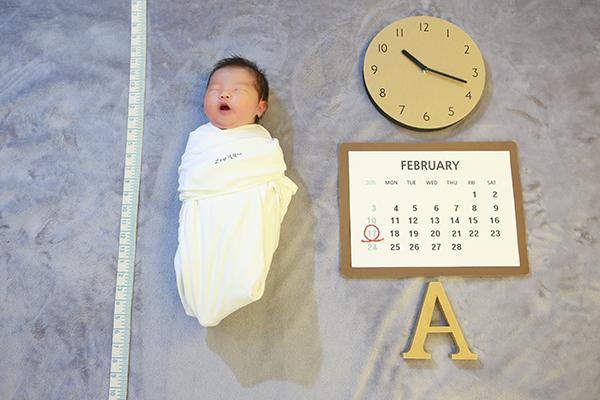 라벨메르 [권나영 이종광] 신생아 사진
