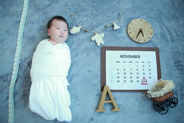 라벨메르 [김정미 이성주 ] 신생아 사진