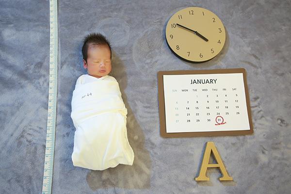 라벨메르 [오윤지] 신생아 사진