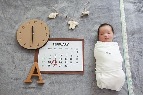 라벨메르 [이성민 하민영] 신생아 사진