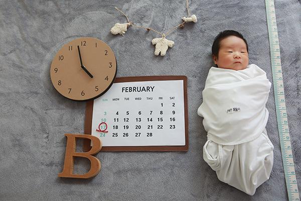 라벨메르 [장슬기 박세현] 신생아 사진